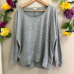 Ardene Gray slouchy Knit Sweater
